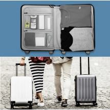 "Фото: Чемодан RunMi 90 Points suitcase Moonlight White 28"" - изображение 4"