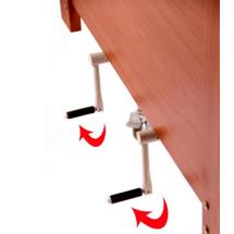 Фото: Медицинская кровать деревянная OSD-94 (Италия) - изображение 3