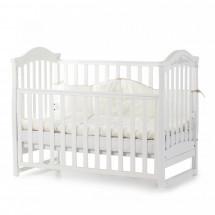 Фото: Кроватка детская Верес Соня ЛД3 без колес на ножках, белый - изображение 3