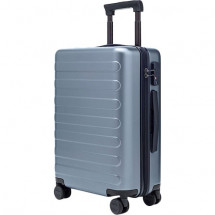 "Фото: Чемодан RunMi 90 Points suitcase Business Travel Lake Light Blue 20"" - изображение 10"