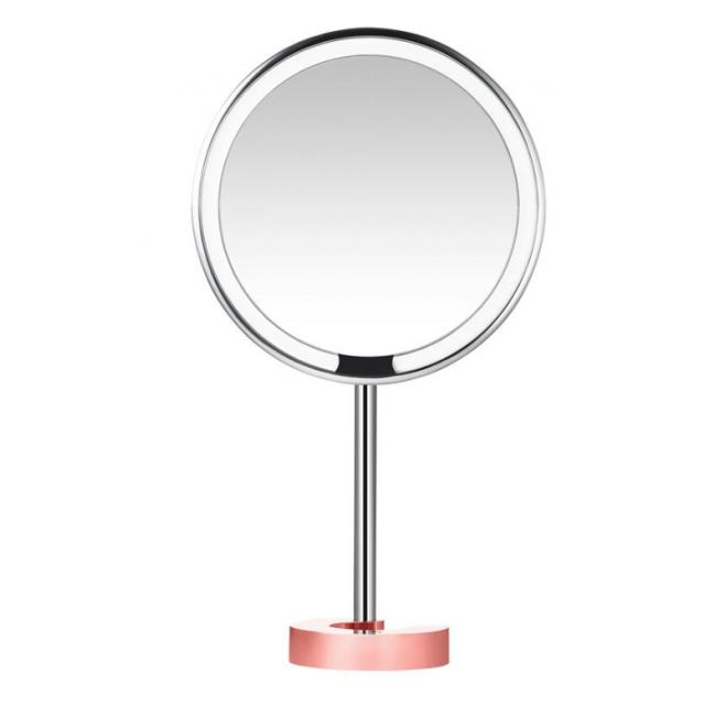 "Зеркало для макияжа AMIRO LUX High Color Rendering 8"" AML001 Matte Rose Gold"