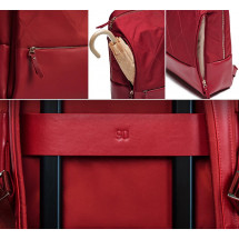 Фото: Рюкзак RunMi 90GOFUN Fashion city Lingge shoulder bag Red - изображение 10