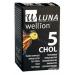 Тест-полоски для измерения уровня холестерина в крови Wellion LUNA Duo 5 шт. (Австрия)