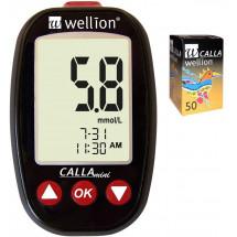 Фото: Акционный набор Wellion Calla Mini + тест-полоски №50 (Австрия) - изображение 4