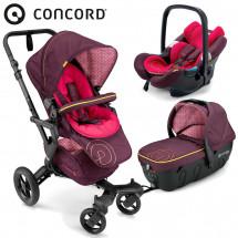 Фото: Коляска универсальная 3 в 1 Concord Neo Travel Set Rose Pink - изображение 5