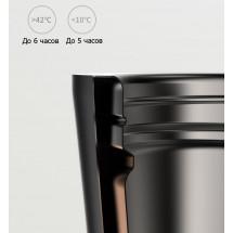 Фото: Термокружка KissKissFish MOKA Smart Coffee Tumbler White - изображение 7