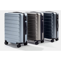 "Фото: Чемодан RunMi 90 Points suitcase Business Travel Lake Light Blue 20"" - изображение 7"