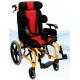 Коляска инвалидная педиатрическая для пациентов с церебральным параличом механическая Heaco Golfi-16С