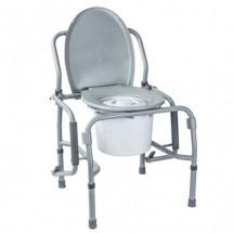 Фото: Стул-туалет с откидными подлокотниками стальной OSD-2106D - изображение 2