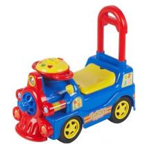 Фото: Alexis-Babymix 7600 (blue) Машинка-каталка - изображение 1