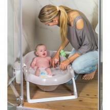 Фото: Ванночка детская для купания OK Beby Onda Slim серая - изображение 5