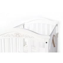 Фото: Кроватка детская Верес Соня ЛД3 без колес на ножках, белый - изображение 1