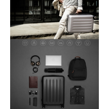 "Фото: Чемодан RunMi 90 Points suitcase Moonlight White 28"" - изображение 2"
