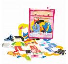 Игровой набор стикеров для ванной Модные наряды Meadow Kids (MK 030)