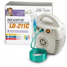 Фото: Ингалятор компрессорный Little Doctor LD 211C белого цвета (Сингапур) - изображение 4