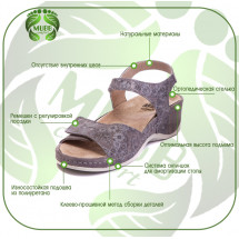 Фото: Женские кожаные тапочки NAPPA BEIGE 782, Mubb - изображение 3