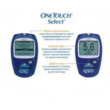 Фото: Акция!!!Глюкометр OneTouch Select и тест-полоски Уан Тач 50 шт, (США) [61776] - изображение 2