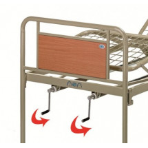 Фото: Медицинская кровать (три секции) OSD-94V металлическая - изображение 1