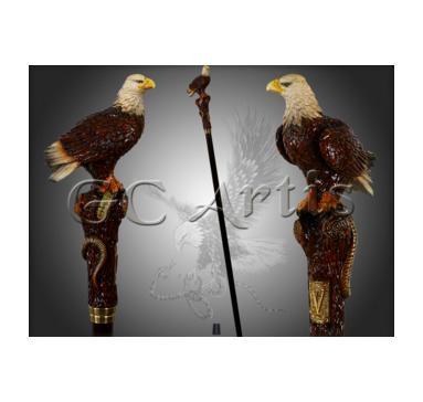 Трость Орел со змеей GC-Artis Eagle PP-013BR