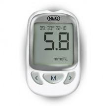 Фото: Система для контроля уровня глюкозы в крови NewMed Neo + 50 тест полосок - изображение 2