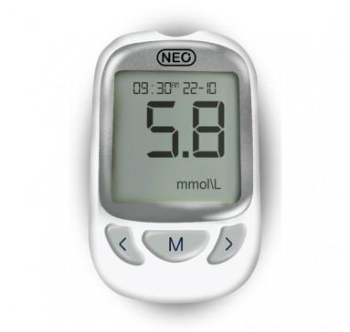 Система для контроля уровня глюкозы в крови NewMed Neo + 50 тест полосок