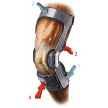 Фото: Ортез для колена DONJOY ARMOR FP ACL STD арт. 11-1443 - изображение 1