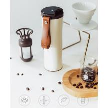 Фото: Термокружка KissKissFish MOKA Smart Coffee Tumbler White - изображение 3