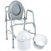 Фото: Стул-туалет с откидными подлокотниками стальной OSD-2106D - изображение 1