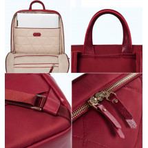 Фото: Рюкзак RunMi 90GOFUN Fashion city Lingge shoulder bag Red - изображение 7