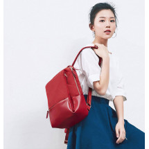 Фото: Рюкзак RunMi 90GOFUN Fashion city Lingge shoulder bag Red - изображение 6