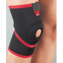 Фото: Бандаж на колено неопреновый неразъемный, силиконовое кольцо Aurafix 101 - изображение 4