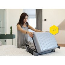 "Фото: Чемодан RunMi 90 Points suitcase Business Travel Lake Light Blue 20"" - изображение 4"