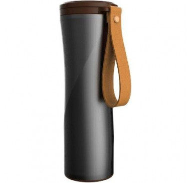 Термокружка KissKissFish MOKA Smart Coffee Tumbler Black