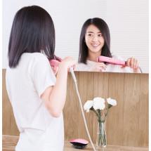 Фото: Выпрямитель для волос Yueli HS-521 Pink - изображение 2
