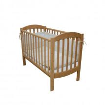 Фото: Кроватка детская Верес Соня ЛД10 без колес на ножках бук - изображение 1
