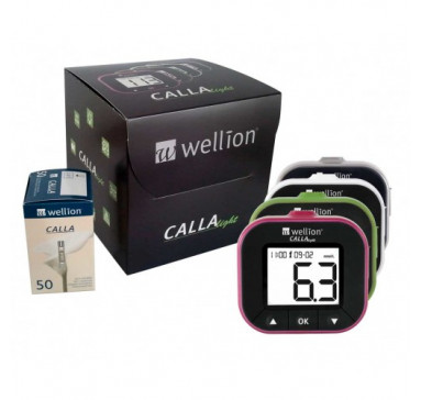 Акция! Глюкометр Wellion CALLA Light + 50 шт. тест-полосок Wellion CALLA Light  (Австрия)