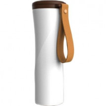 Фото: Термокружка KissKissFish MOKA Smart Coffee Tumbler White - изображение 9