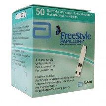 Фото: Тест-полоски FreeStyle Papillon (50 шт.) в упаковке. - изображение 1