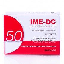 Фото: Тест-полоски IME-DC к базовому глюкометру, 50 штук - изображение 2
