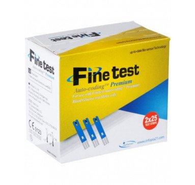 Тест-полоски Finetest premium, 50 шт.