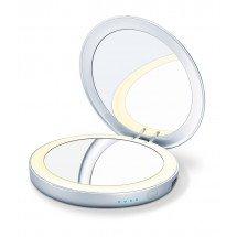 Фото: Косметическое зеркало с подсветкой и внешним аккумулятором Beurer BS 39 - изображение 3