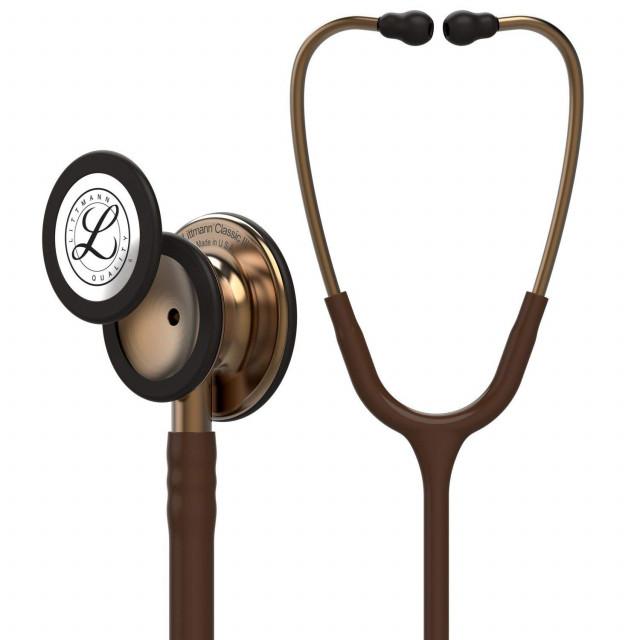 Стетоскоп Littmann Classic III шоколадный с бронзовой головкой