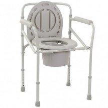 Фото: Стул-туалет складной металлический OSD-2110J - изображение 4