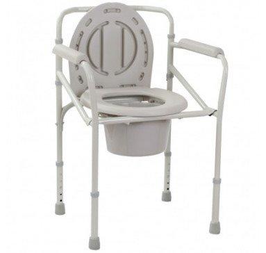 Стул-туалет складной металлический OSD-2110J