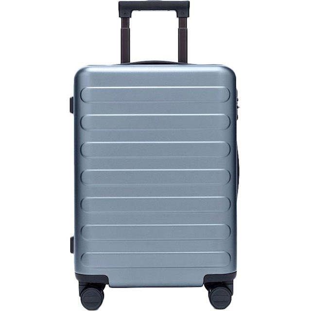 """Чемодан RunMi 90 Points suitcase Business Travel Lake Light Blue 20"""""""