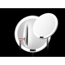 "Фото: Зеркало для макияжа AMIRO LUX High Color Rendering 8"" AML001 Matte Rose Gold - изображение 2"