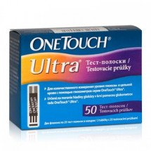 Фото: Тест-полоски One Touch Ultra (50 шт.) - изображение 3