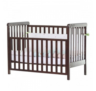 Кроватка детская Верес Соня ЛД12 без колес на ножках, орех