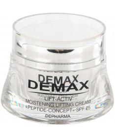 Demax Увлажняющий лифтинг  крем пептид  концепт SPF 25