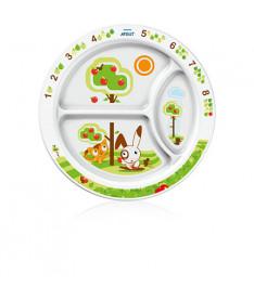 Детская порционная тарелка Philips Avent SCF 702/00